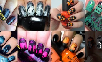 Ideias de unhas para o dia das bruxas