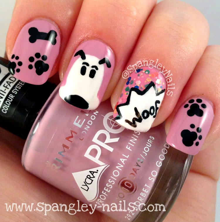Zero The Dog Nail Designs: Unhas Com Cães E Gatos