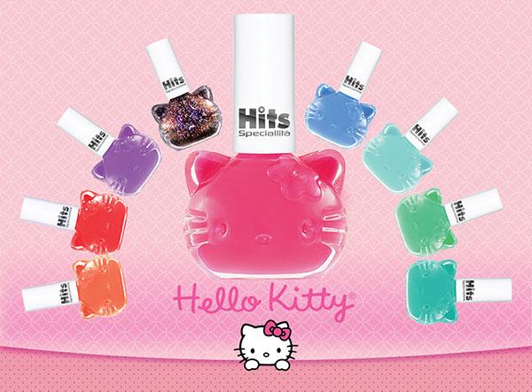 esmaltes hits coleção hello kitty
