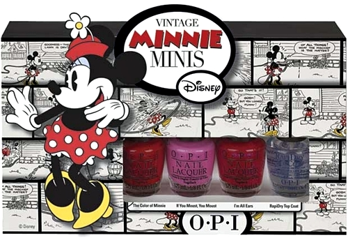 esmaltes minnie mouse
