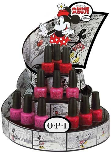 esmaltes opi minnie mouse