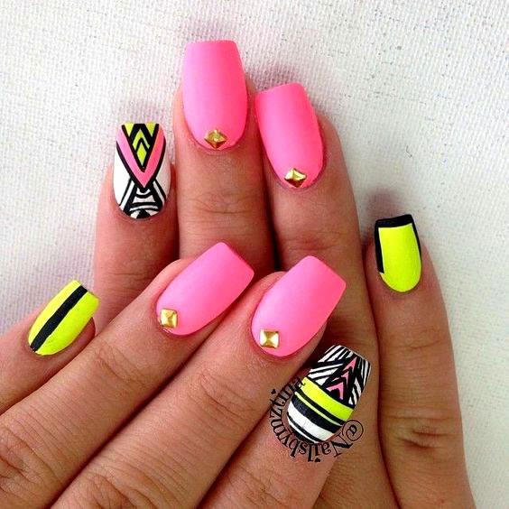 Дизайн ногтей летнее 116