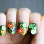 Unhas Decoradas com Fimo - Nail Art
