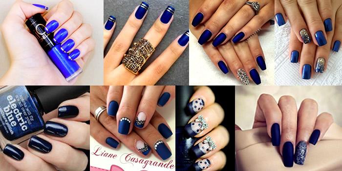 Unhas Azulão – A moda do azul pegou