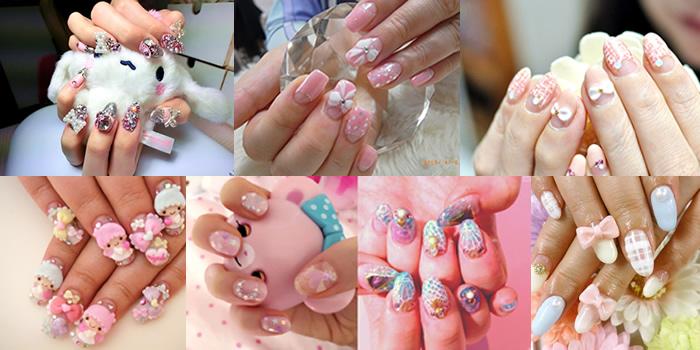 Unhas decoradas japonesas – Nail Art