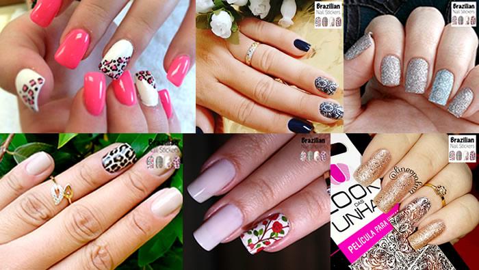 As melhores unhas decoradas do facebook