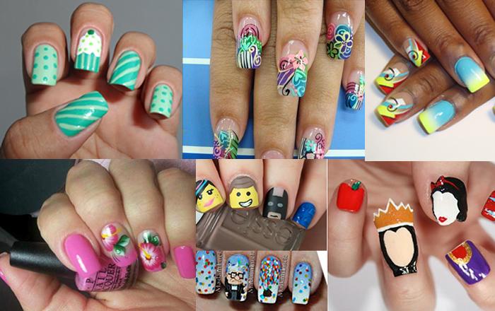Ideias para decorar suas unhas ainda para 2016