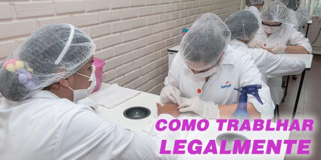 manicure legalizada