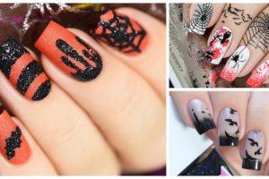 Melhores decorações de unhas para o Dia das bruxas - Halloween