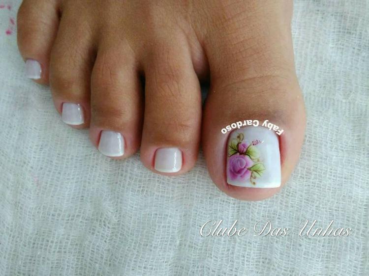 Unhas Decoradas com Flores Mexicanas – Passo a Passo