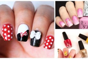 Unhas decoradas com personagens famosas