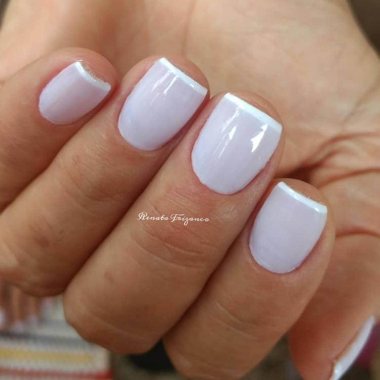 Combinações para unhas francesinhas, veja os esmaltes usados pelas manicures2