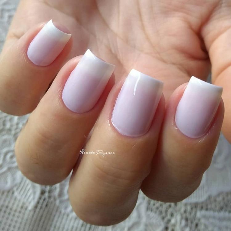 Combinações para unhas francesinhas, veja os esmaltes usados pelas manicures4