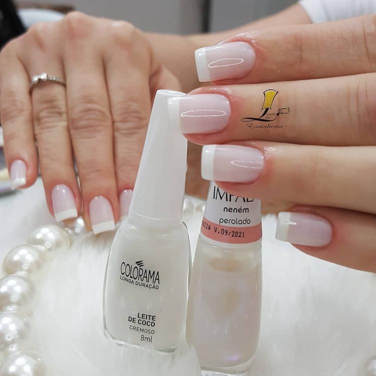 Modelos de francesinhas que ficaram perfeitas em suas unhas