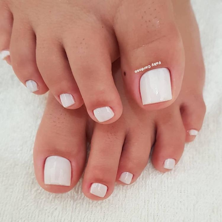 19 Combinações de unhas com esmalte branco6