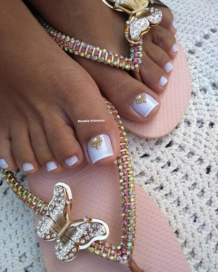 21 Fotos de Unhas decoradas dos pés