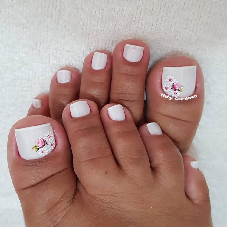 Combinações de cores para unhas dos pés1