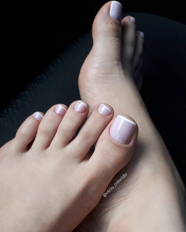 Combinações de cores para unhas dos pés16
