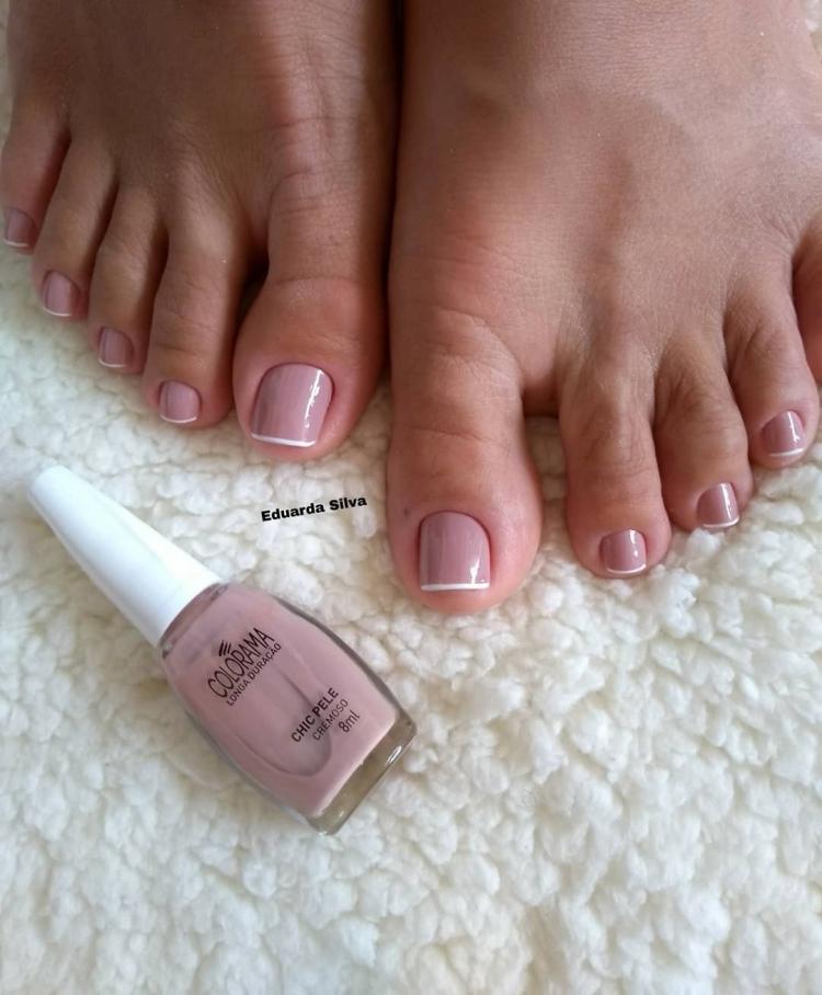 Combinações de cores para unhas dos pés20