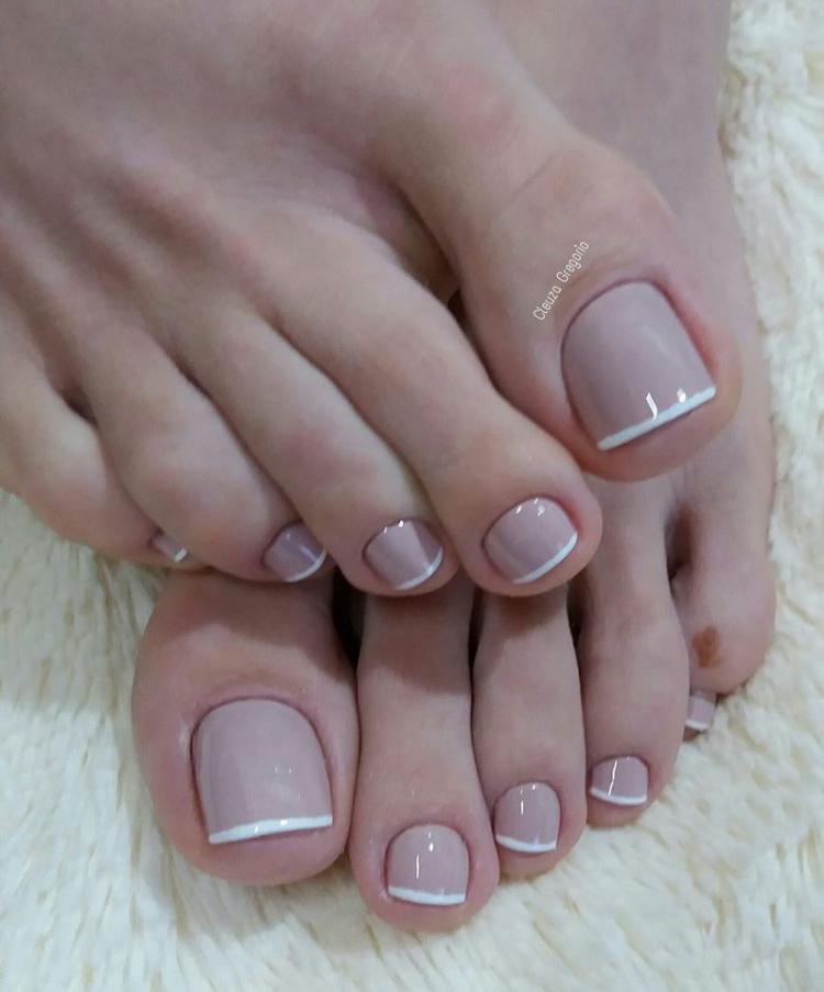 Melhores modelos de unhas dos pés que toda a manicure deveria saber decorar6