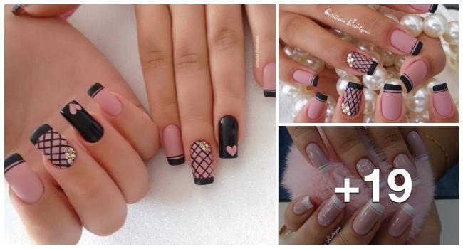 19 Francesinhas decoradas perfeitas para fazer em suas unhas