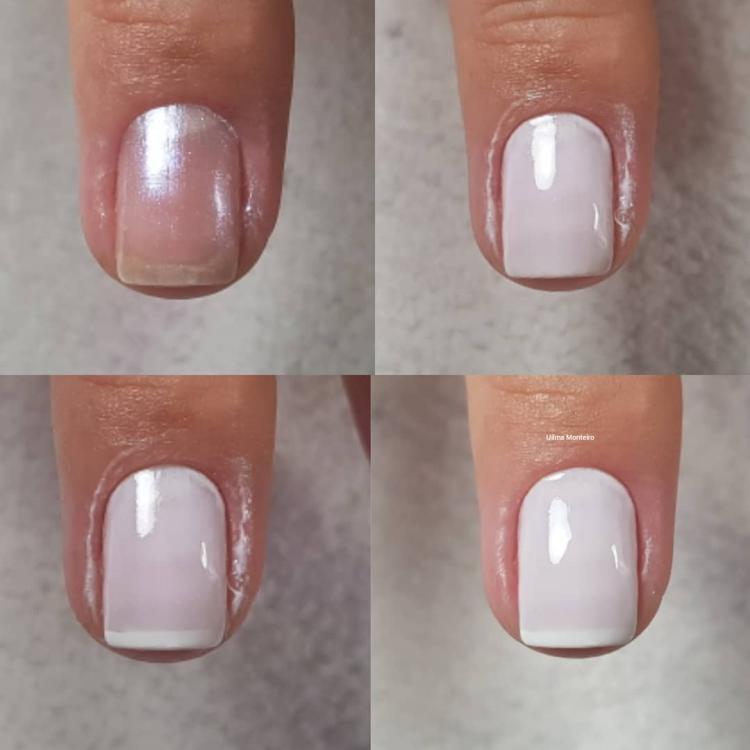 Combinações de Unhas com Esmalte Branco12