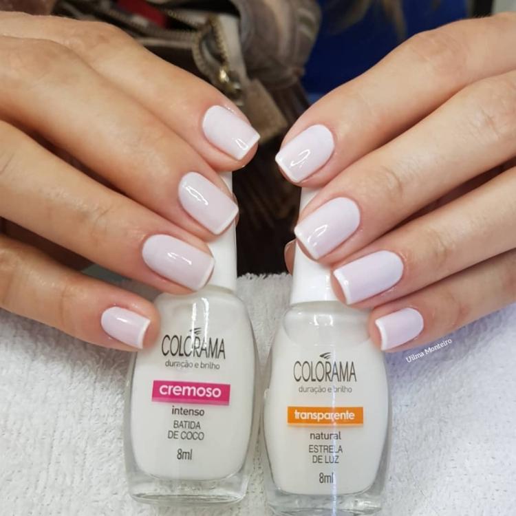 Combinações de Unhas com Esmalte Branco14