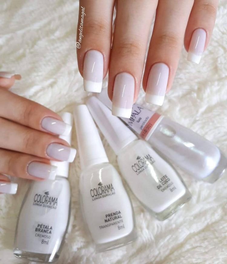 combinações de esmaltes brancos10099
