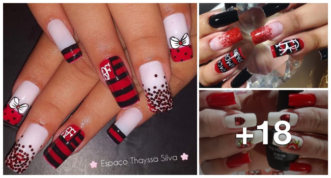 17 Unhas Decoradas do Flamengo