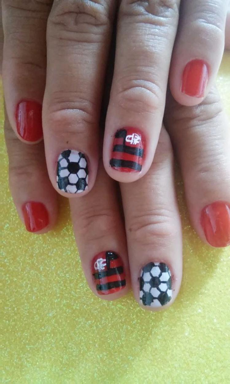 17 Unhas Decoradas do Flamengo