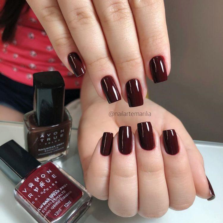 Combinações de esmaltes vermelhos16
