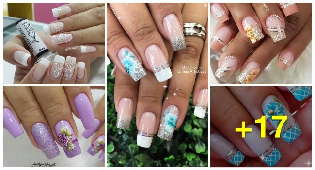 Ideia para decorar unhas, conheça as fitinhas metalizadas118