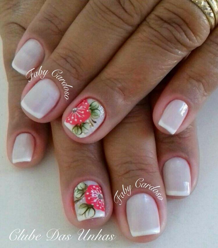Unhas Decoradas Com Flores Mexicanas Passo A Passo
